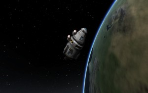 Kerbals on the edge of space