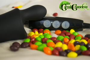 Doxy Skittle with control dongle and skittles.