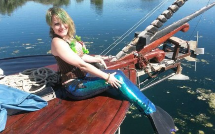 Tails and Portholes Mermaid